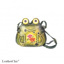 Medium Size Animal Crossbody Bag HB 15.1m Frog