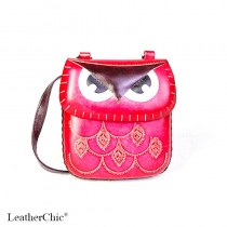 Medium Size Animal Crossbody Bag HB 16m Owl