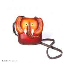 Medium Size Animal Crossbody Bag HB 17m Elephant