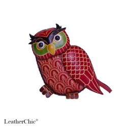 Large Size Coin Purse Soft CP 116.4 Owl