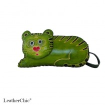 Large Size Coin Purse Soft Tiger