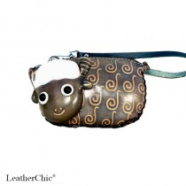 Large Size Coin Purse Soft CP 108.4 Lamb