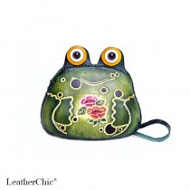 Large Size Coin Purse Soft CP 115.3 Frog