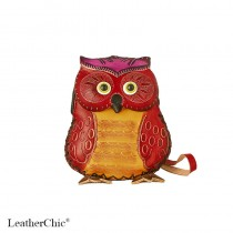 Large Size Coin Purse Soft CP 116.2 Owl