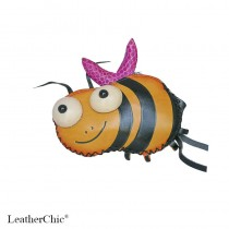 Large Size Coin Purse Soft Bee