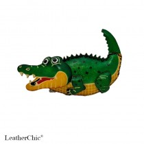 Large Size Coin Purse Soft Alligator