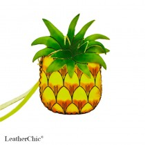 Large Size Coin Purse Soft  CP 130.7A Pineapple
