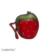 Regular Size Coin Purse Soft  CP 130.1 Strawberry