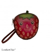 Regular Size Coin Purse Soft  CP 130.2 Strawberry