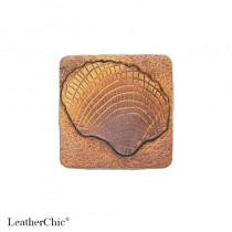 Hand Carved Fridge Magnet Sea Shell
