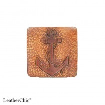 Hand Carved Fridge Magnet Anchor