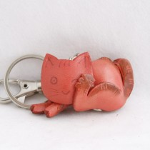Cat Key Chain KC 13 Sleeping Cat