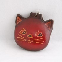 Cat Key Chain  KC 13.1 Cat Face
