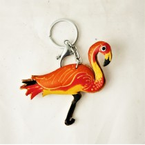 Bird Key Chain KC 42.6 Flamingo