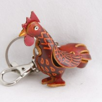 Chinese Zodiac Key Chain Chicken