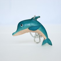 Aquatic Key Chain Dolphin
