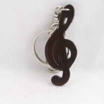 Music Instrument Key Chain KC 40.5 Treble Note