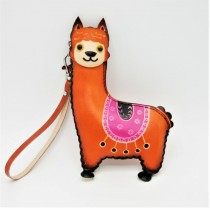 Large Size Coin Purse Soft CP 108.1 Lama