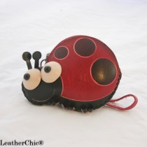 Large Size Coin Purse Soft CP 118.3 Ladybug