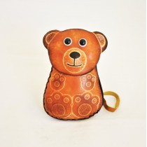 Large Size Coin Purse Soft Bear