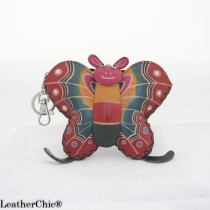 Large Size Coin Purse Soft CP 121.1 Butterfly