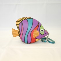 Large Size Coin Purse Soft Fish