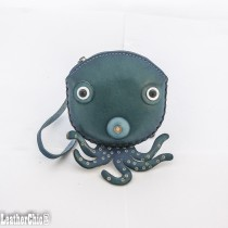 Large Size Coin Purse Octopus CP 123.08