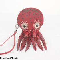Large Size Coin Purse Octopus CP 123.09