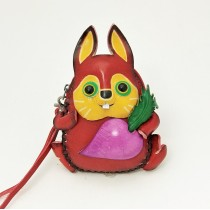 Large Size Coin Purse Soft CP 104.1 Rabbit
