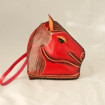 Large Size Coin Purse Soft Horse