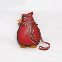 Large Size Coin Purse Soft CP 110 Chicken