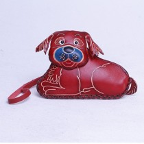 Large Size Coin Purse Soft CP 111.3 Dog