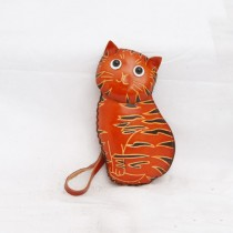 Large Size Coin Purse Soft CP 113.1 Cat