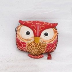 Large Size Coin Purse Soft CP 116.1 Owl