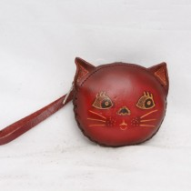 Regular Size Coin Purse Soft Cat