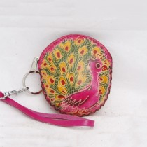 Regular Size Coin Purse Soft  CP 122 Peacock