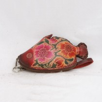 Regular Size Coin Purse Soft CP 123.04 Fish