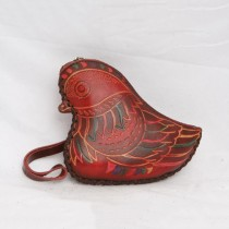 Regular Size Coin Purse Soft CP 124 Bird