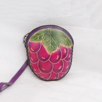 Regular Size Coin Purse Soft CP 130.9 Grape