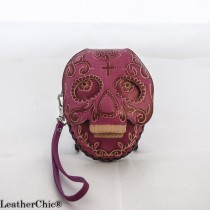 Large Size Animal Purse Shaped AP 300 Skull