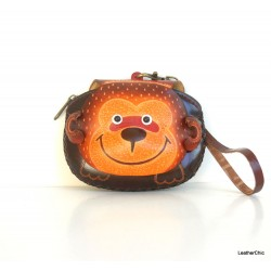 Large Size Animal Purse Shaped AP 309.1 Monkey