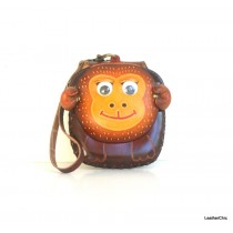 Large Size Animal Purse Shaped AP 309.2 Monkey