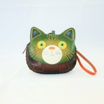 Large Size Animal Purse Shaped Cat