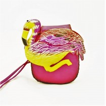 Large Size Animal Purse Shaped AP 324.6 Flamingo