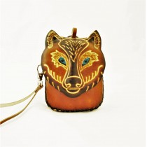 Large Size Animal Purse Shaped AP 332.6 Wolf