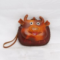 Large Size Animal Purse Shaped Cow