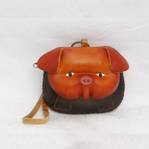 Large Size Animal Purse Shaped Pig