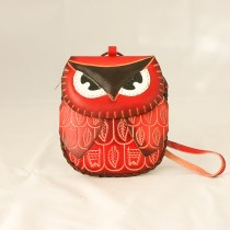 Large Size Animal Purse Shaped Owl