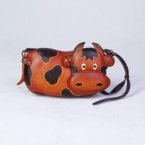 Medium Size Animal Crossbody Bag Cow