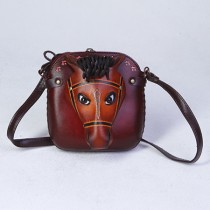Medium Size Animal Crossbody Bag HB 07m Horse